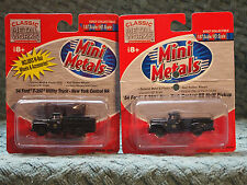 CLASSIC METAL WORKS  FORD F350 UTILITY TRUCK & PICK-UP TRUCK NEW YORK CENTRAL RR