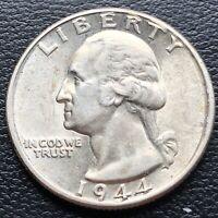 USA 1944 Washington Quarter 25c Top Erhaltung Silber #25061