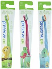 Preserve Kids Soft Bristle Toothbrush - Pack of 6