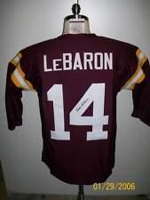 EDDIE LeBARON SIGNED WASHINGTON REDSKINS JERSEY #14 JSA RIP