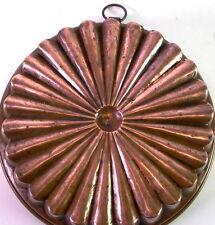 schöne alte Kupferform Kupfermodel Backform - 19 Jhd