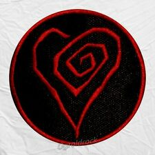 Marilyn Manson Twisted Heart Logo Embroidered Big Patch Eat Me Drink Me Spooky