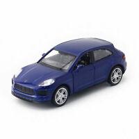Porsche Macan S SUV 1:36 Die Cast Modellauto Auto Spielzeug Model Sammlung Blau