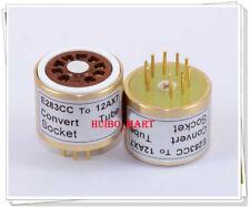 1PC E283CC 12AX7 6.3V Vacuum Tube Socket konvertieren Adapter für AMP Do it yourself