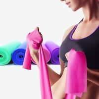Resistance Band Training Bands Fitness Workout Excercise Rubber Yoga Elastic Gym