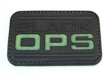BLACK OPS Patch, Morale, MOD, Airsoft, Skirmish, Identification, Uniform