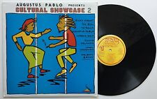 RARE Augustus Pablo Presents Cultural Showcase 2 EX JA Press LP  70s Roots / Dub