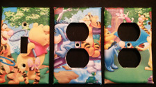 WINNIE THE POOH LIGHT SWITCH COVER AND OUTLET PLATES; ADORABLE! -FREE SHIPPING
