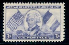 #1010, 3¢ Lafayette Stamps Lot Of 400, Mint - Spice Up Your Mailings!