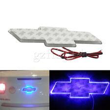 one Blue LED logo Badge Emblem Decal Background Light Luxury For Chevrolet Cruze