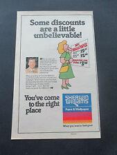 "Vintage 1981 Sherwin Williams Paint & Wallpaper Print Ad, 12"" X 7.5"""