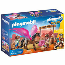 Playmobil 70074 Playmobil: The Movie Marla And Del With Flying Horse