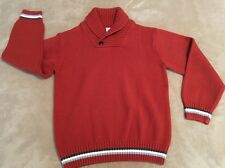 Gymboree Boy's Autumn Fall Thanksgiving Button Collar Sweater. Size L (10/12)