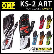 KK02748 Guantes Karting Omp KS-2 Art KS2 Diseño Impreso Kart moderno 6 Colores