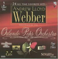 24 ALL TIME FAVORITE HITS - ANDREW LLOYD WEBBER - PERFORMED BY THE ORLANDO POPS