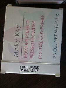 Mary Kay  Powder Perfect Pressed Powder ~Light Bronze ~ # 1425 NIB