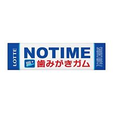 Lotte no time gum dentifrice gum 7 x 15pcs Free Ship w/Tracking# New from Japan