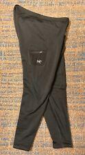 Arcteryx RHO AR Tights XL Black Polartec Power Stretch