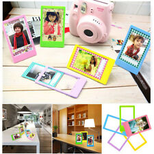 "5x 3"" Photo Picture Frame Colorful Modern for Polaroid Mini Party Home Decor Hot"
