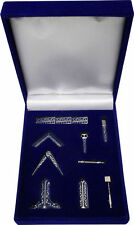 Z-178 Minature Working Tool Set PHA Masonic FreeMasonry Lodge Mason