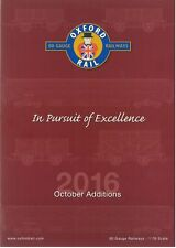 """OXFORD RAIL """"IN PURSUIT OF EXCELLENCE"""" 2016 OCTOBER ADDITIONS CATALOGUE"""