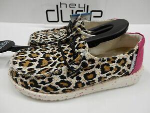 Hey Dude Youth Wendy Cheetah 1