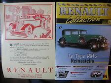 FASCICULE  47 RENAULT COLLECTION REINASTELLA AVEC INSERT