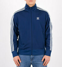 Mens Adidas Originals Firebird Track Jacket Marine Blue FM3810 NEW