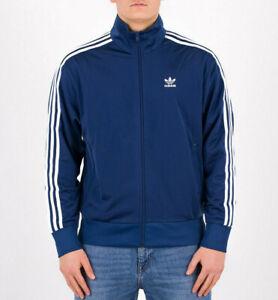 Mens Adidas Originals Firebird Track Jacket Marine Blue FM3810 NEW