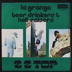 """ZZ TOP: la grange / beer drinkers & hell raisers LONDON 7"""" Single 45 RPM"""