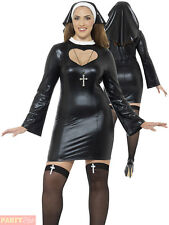 Smiffys 44688x1 Curves Nun Costume (x-large)