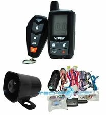 VIPER 5305V 2 WAY LCD VEHICLE CAR ALARM KEYLESS ENTRY REMOTE START SYSTEM