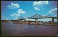 Lot Two Vintage Postcards From La Crosse, Wisconsin Interstate Bridge/Yacht Club