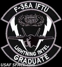 USAF 33rd OPERATIONS SUPPORT SQUADRON - F-35 RAPTOR INTELLIGENCE - VEL PATCH