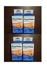 exp 9-18   4 BOTTLES Bausch Lomb PreserVision Eye Vitamin AREDS Lutein 100 COUNT