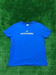 Men's Under Armour Heat Gear Wounded Warrior Project T Shirt Size XXL 2XL