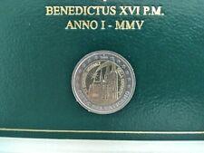 VATICANO 2005 ,2 EUROS CONMEMORATIVOS AÑO MUNDIAL DE LA JUVENTUD