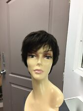Gabor CONFIDENCE Short Lace Front Pixie Wig, GL2/6 Black Coffee / Dark Brown