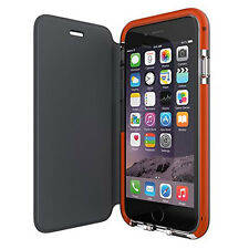 """NEW TECH21 CLASSIC SHELL 4.7"""" IPHONE 6 6S SLIM FLIP CASE COVER IN CLEAR SMOKEY"""