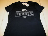 DALE EARNHARDT JR Dark Blue NASCAR Driver #88 T-Shirt New NWT Womens Missy LARGE