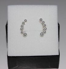 Unbranded Round Pearl Costume Earrings