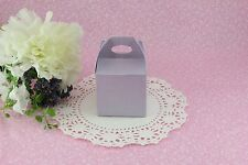 "50ea 2"" Take out Gable Favor Boxes, Wedding Baby Shower Party Treat Candy Gift"