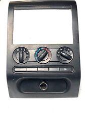 2004 - 2008 Ford F-150 A/C Heater Climate Control Center Bezel 4L34-19980-BG OEM