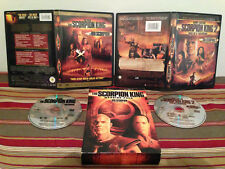 The Scorpion King Warrior Pack  DVD  2-Disc Set  Case & disc Canadian variant