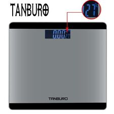 Electronic LCD Digital Bathroom Body Weight Scale Tempered Glass Weighing Scale