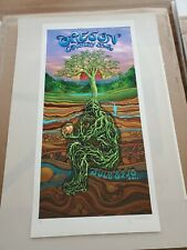 EMEK Oregon County Fair poster print signed numbered MINT 2011 artists edition