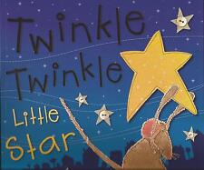 2x Kate Toms Large Picture Books TWINKLE TWINKLE LITTLE STAR & INCY WINCY SPIDER