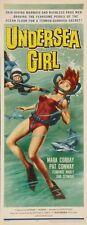 Undersea Girl 14x36 Insert Movie Poster Replica