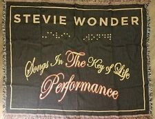 NEW Stevie Wonder 2014 Tour Merchandise Blanket Canvas Bag RARE