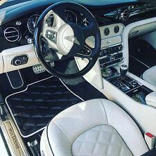 Bentley Mulsanne Bespoke Custom Aftermarket Quilted Floor Mats
